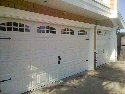 Hildebrandt steel carriage house garage door