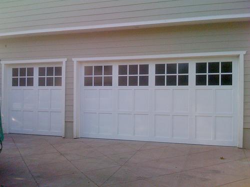 Northwest aluminum garage door