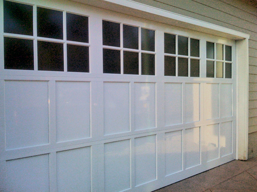 Northwest garage door aluminum