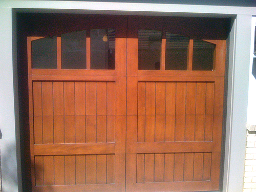 Ranch House Doors garage door