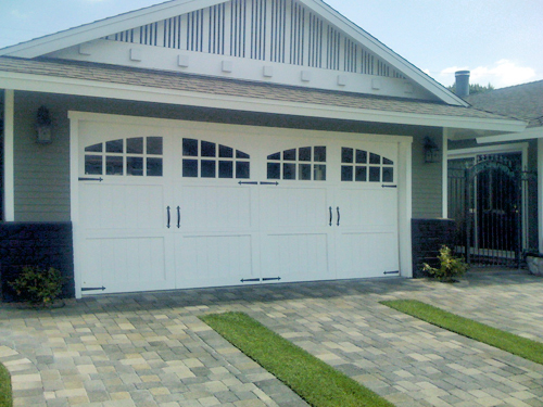 Ranch house doors paint grade all county garage doors for Ranch house garage doors
