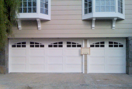 Ranchouse Doors semi custom garage door