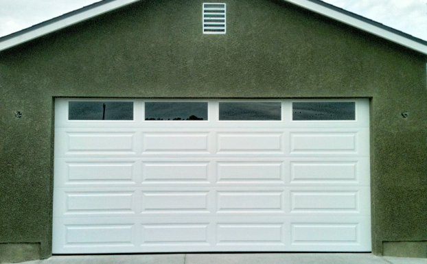Unique Raised Panel white Garage Door