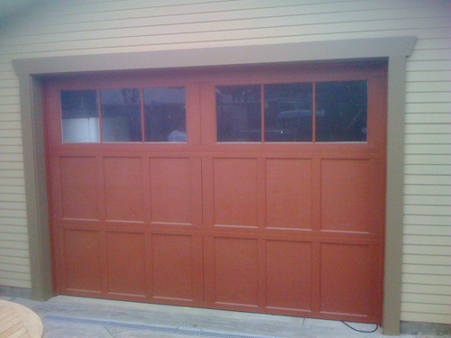 Wayne dalton 9700 10ft x 7ft garage door all county for 10 foot high garage door