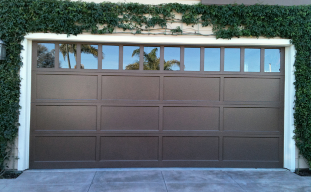 Ranch house doors garage door all county garage doors for Ranch house garage doors