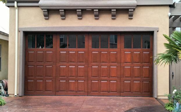 Wayne Dalton wood garage door