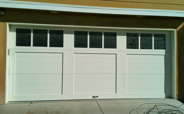 Ranch House doors custom garage door