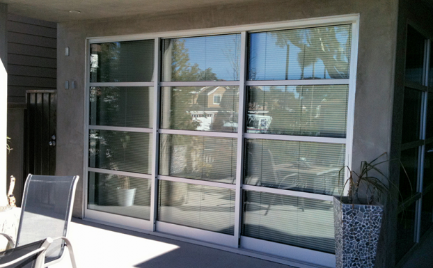 aluminum glass sliding door