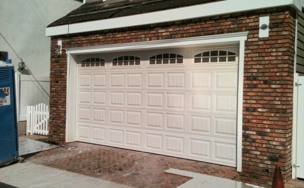 Hildebrandt carriage house garage door 8ft high