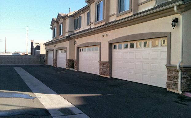 Wanye Dalton 8000 series garage doors