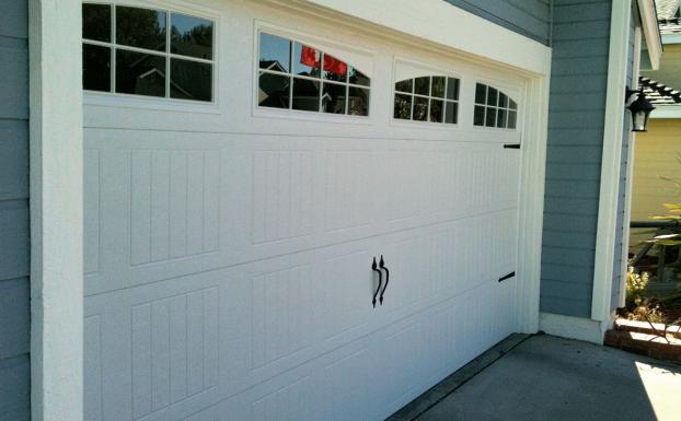 Wayne Dalton foamcore garage door