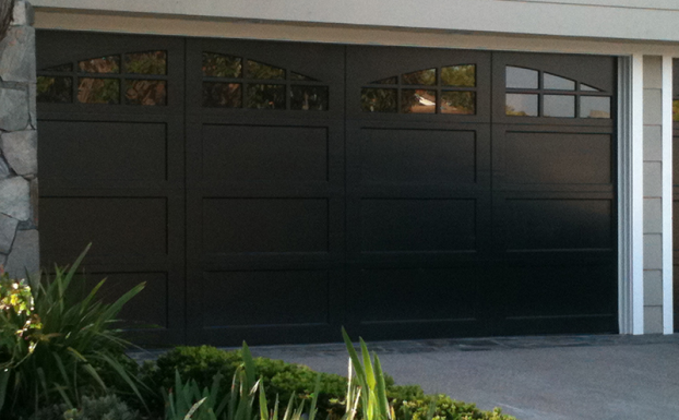 Ranch house doors semi custom garage door all county for Ranch house garage doors