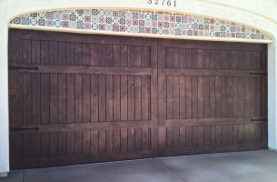 sunwood garage door