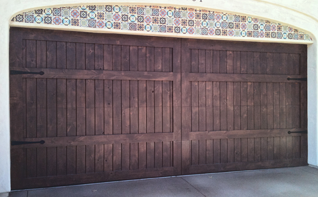 sunwood garage door