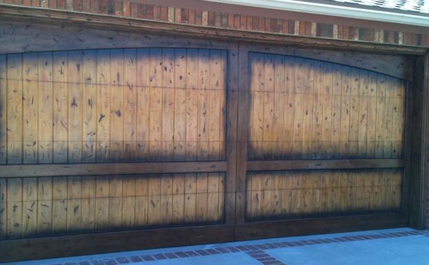Countydoors12 all county garage doors for Garage door finishes