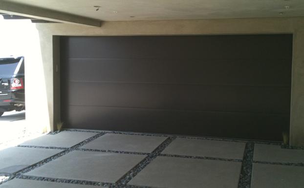 all county doors modern smooth garage door