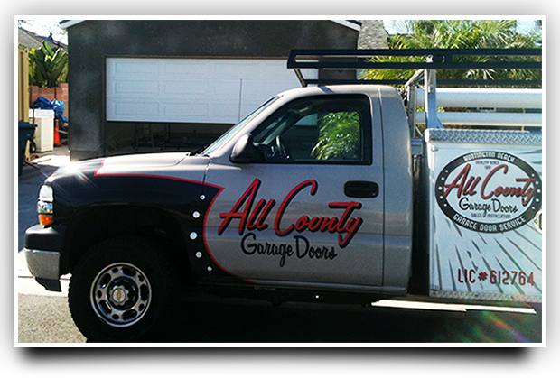 all-county-garage-doors-service-truck