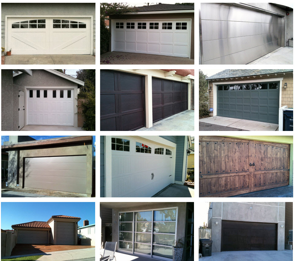 all county doors complete set 3