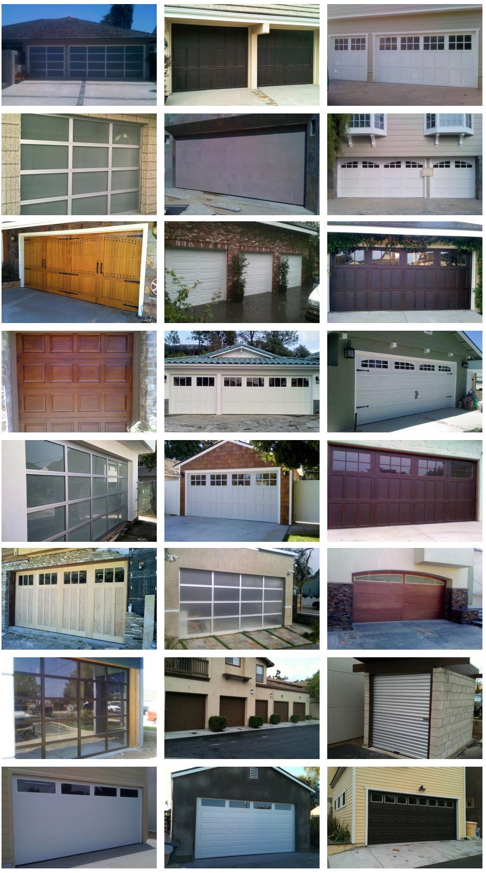 all county doors complete set 7